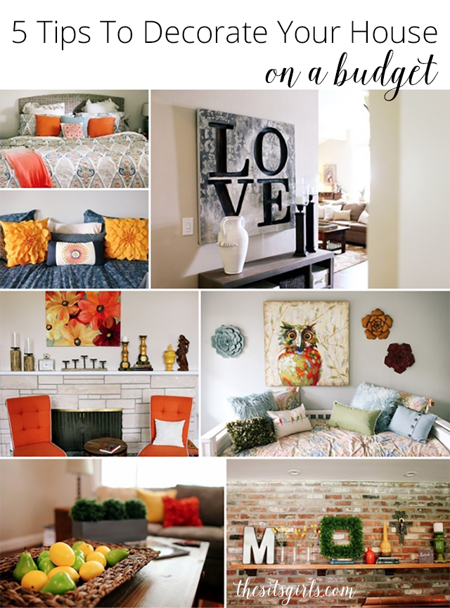 5 Tips To Decorate Your House On A Budget Home Decor Living