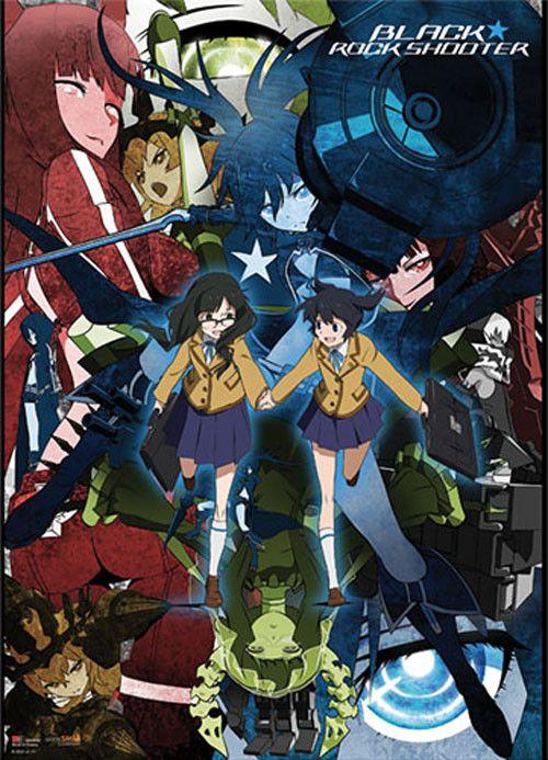 Crunchyroll Store Black Rock Shooter Collage Wall