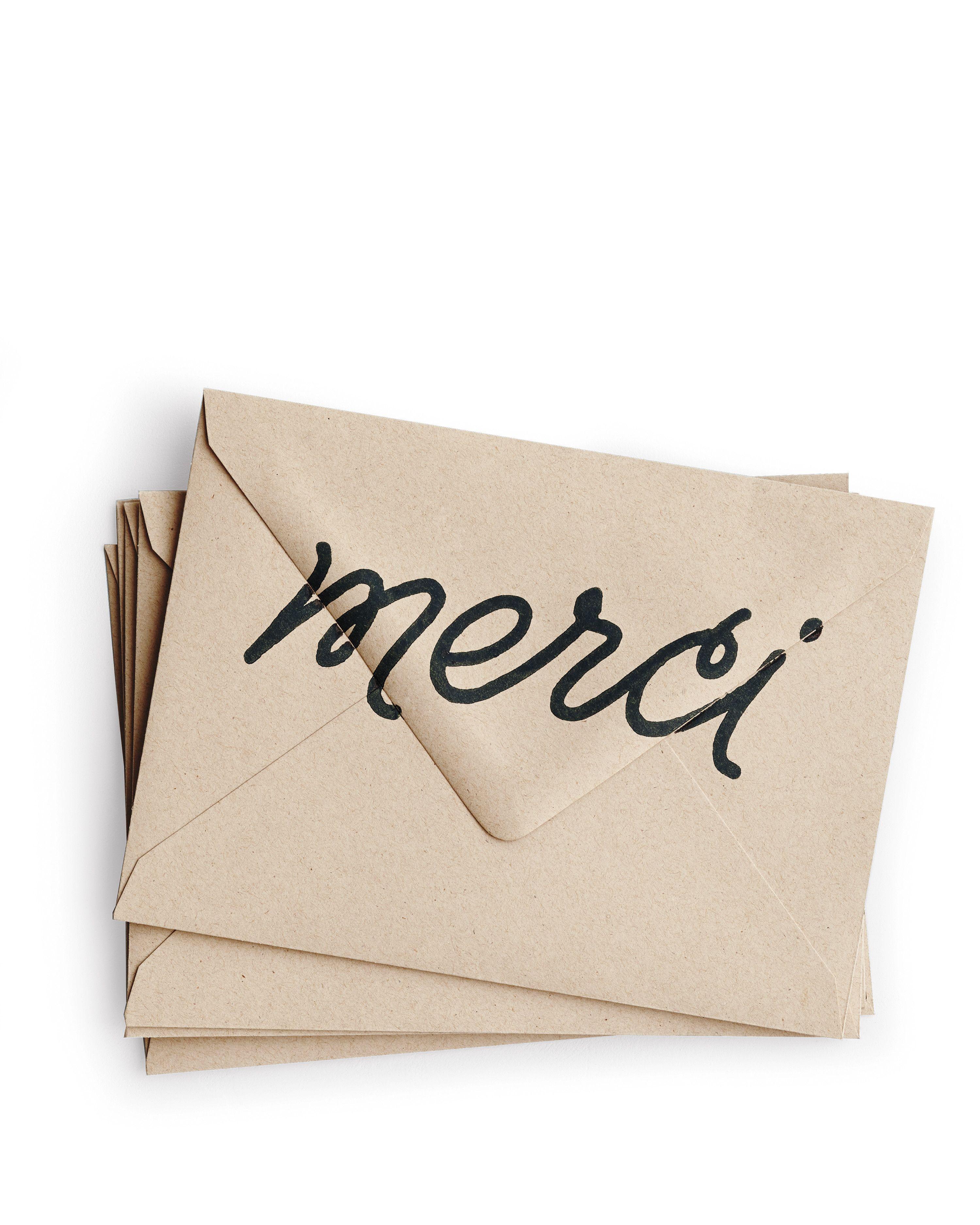 how to write a gracious bridal shower thankyou card