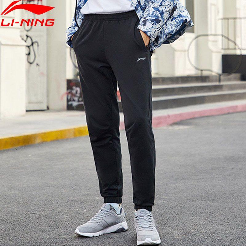 بناطيل التدريب والتمرين رخيص اشتري مباشرة من المورد بالصين سروال رجالي من Li Ning سلسلة للتدريب مع رباط من القطن 100 بجيوب مناسبة و Pants Fashion Sweatpants