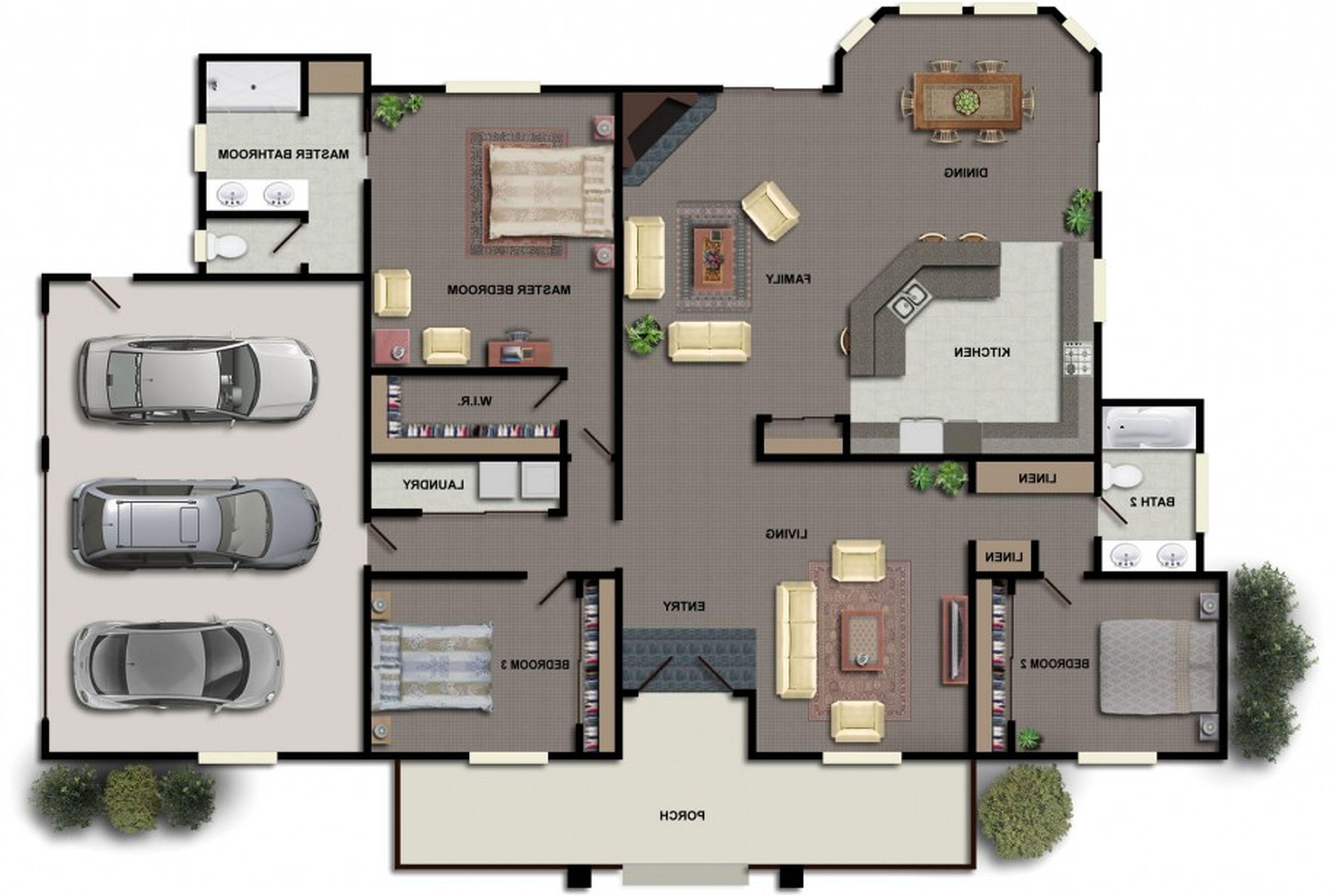 Industrial Style House Plans Modern Floor Plans Modern House