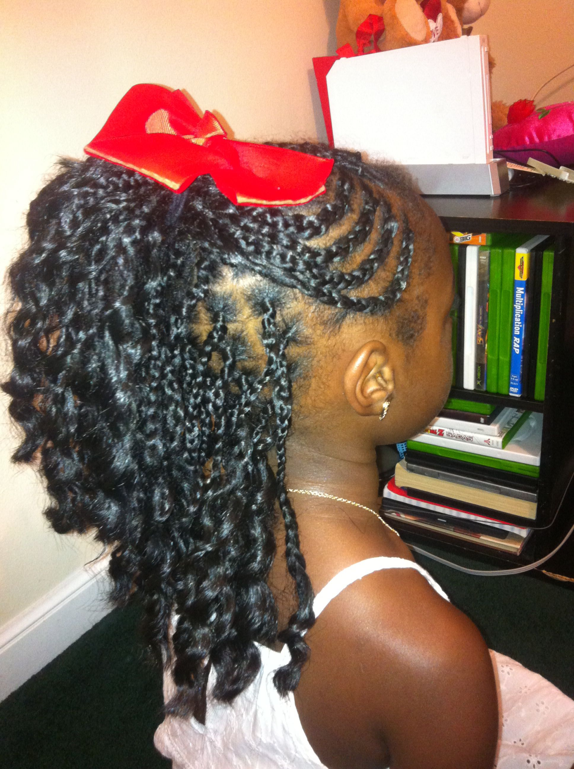 Braids little girls african american quick easy kids style