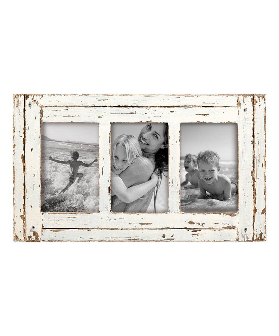 Take A Look At This 4 X 6 White Three Photo Heartland Frame Today White Picture Frames Picture Frames Collage Frames