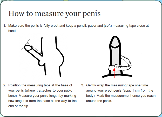 How-To: Correctly Measure Your Penis to Find Your Perfect Condom ...