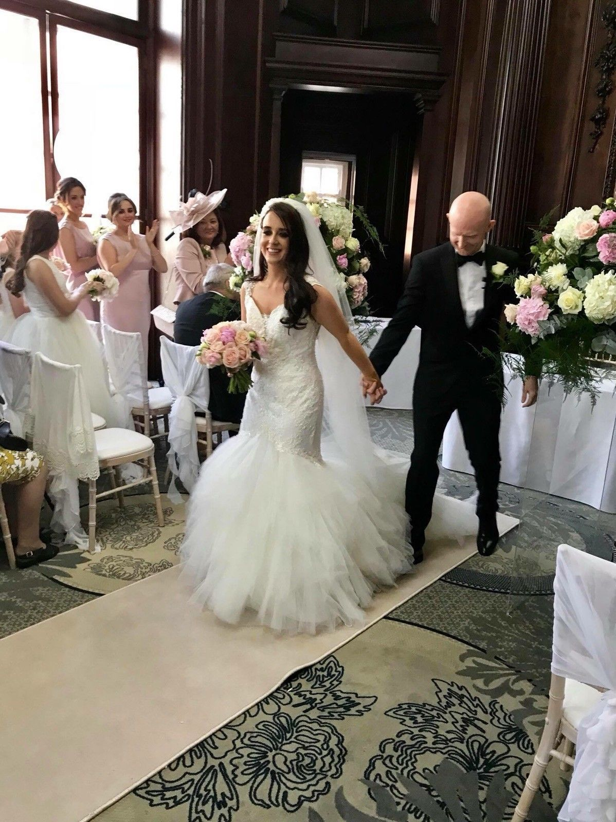 Size 8 wedding dress  Justin Alexander Wedding Dress  Size   eBay  wedding