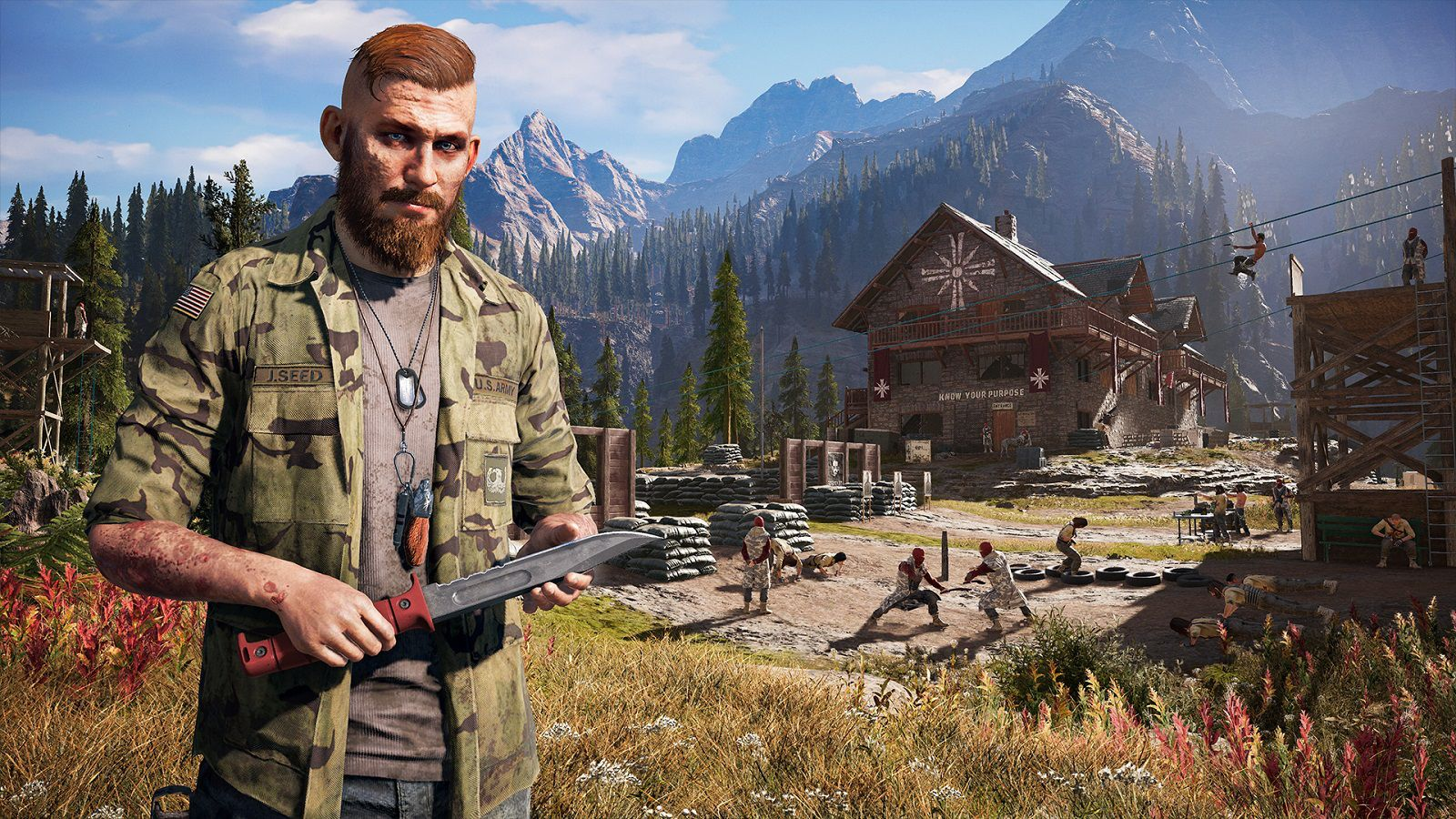 Far Cry 5 Jacob Seed Wallpaper Far Cry 5 Video Game Reviews Crying
