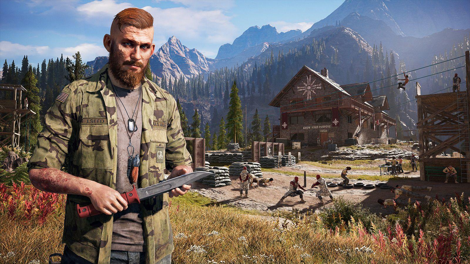 Far Cry 5 Jacob Seed Wallpaper Video Juego Videos Juegos