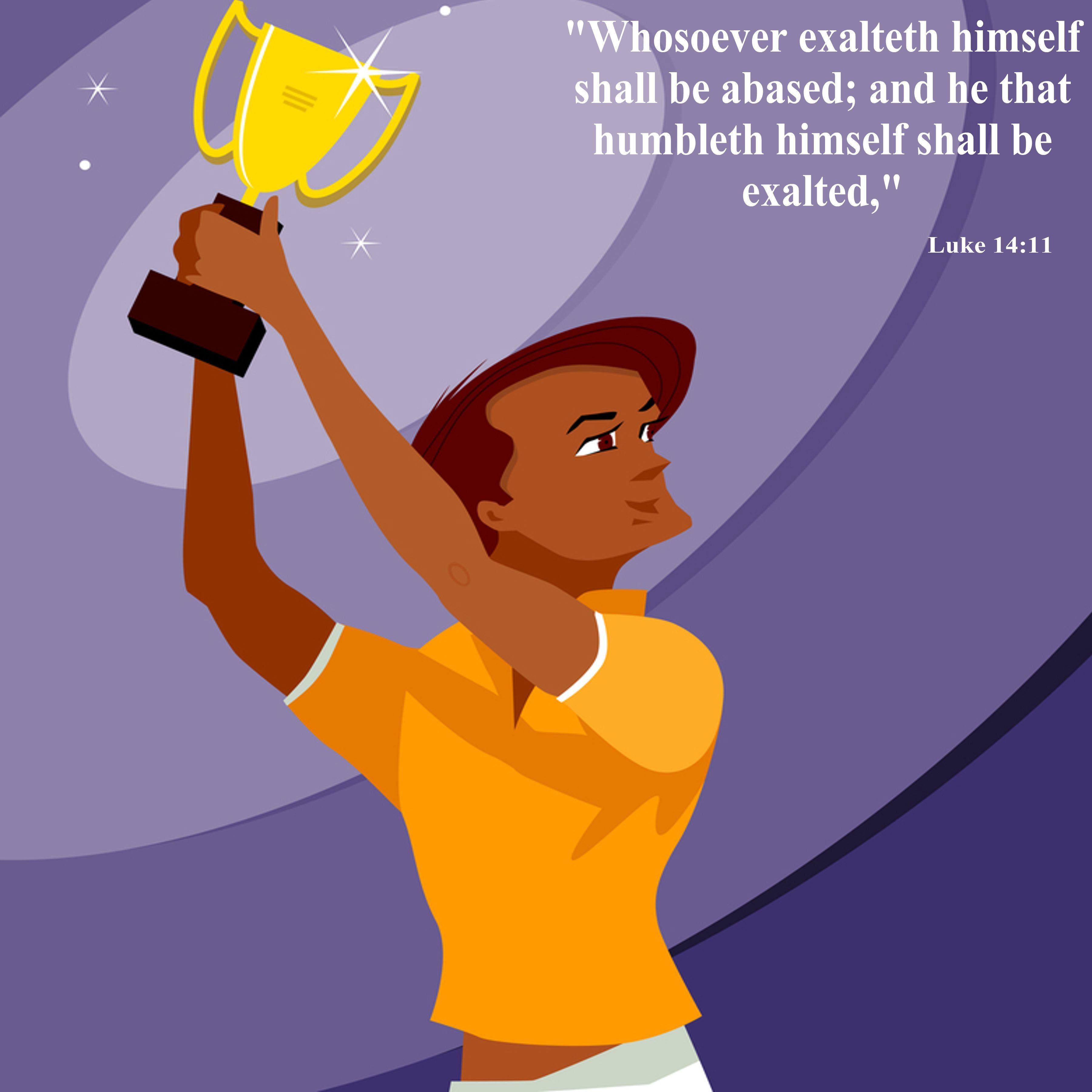 Luke 14 Showing Humility