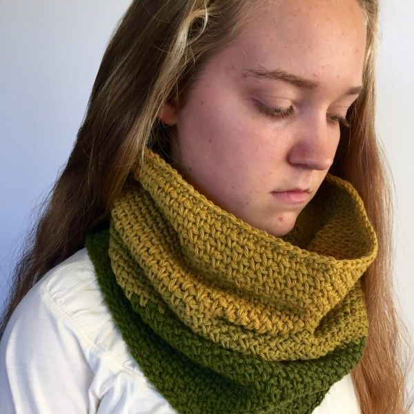 Crochet Pattern Shannons Ombre Cowl For Toddler Child And Adult