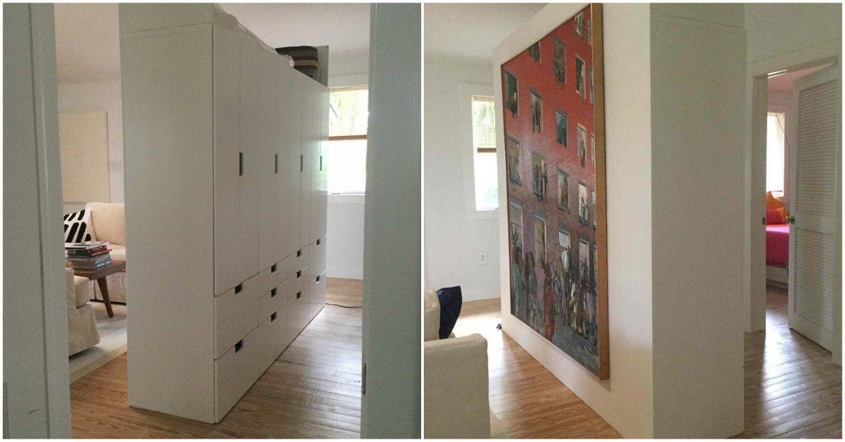 free standing stuva room divider ikea hacks pinterest room ikea room divider and room. Black Bedroom Furniture Sets. Home Design Ideas