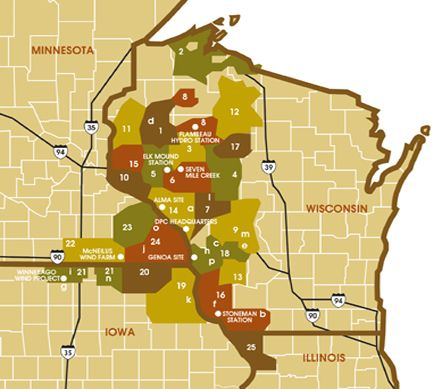 map style -- perhaps a brochure cover that looks like a roadmap of illinois? but guides the reader through what the alliance does?
