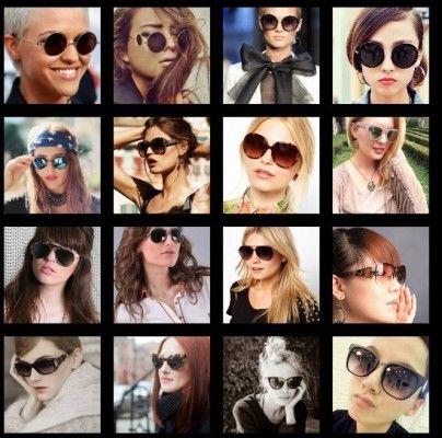 Yeni Moda Bayan Gunes Gozlukleri Modelleri Yeni Moda Moda Yuzler