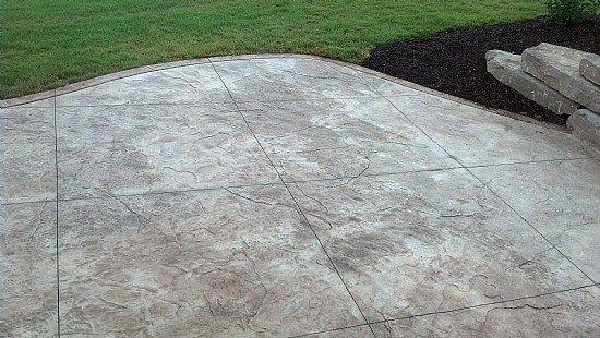 Stamped Concrete Designs In Michigan Stamped Concrete Patio Patio Plans Stamped Concrete Designs