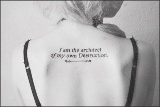 5ef80b3e1 70 Best Inspirational Tattoo Quotes For Men & Women (2018) #inspirational # tattoo