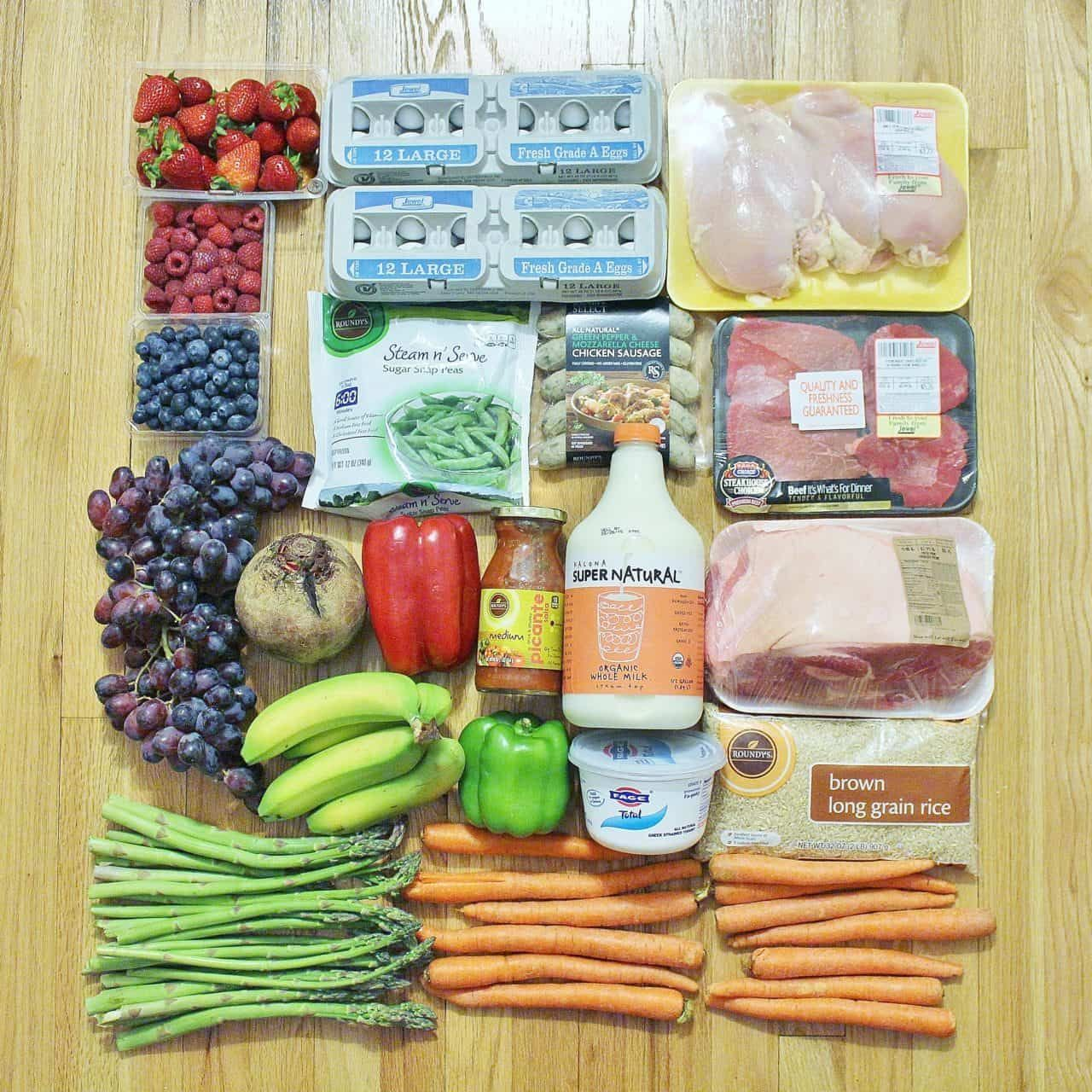 Real Food Grocery Haul // Week of 5 17 15 | Monthly menu