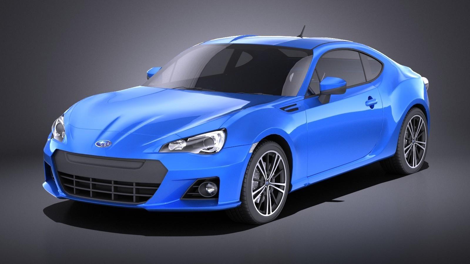 Subaru BRZ 2015 VRAY 3D Model #AD ,#BRZ#Subaru#Model#VRAY ...