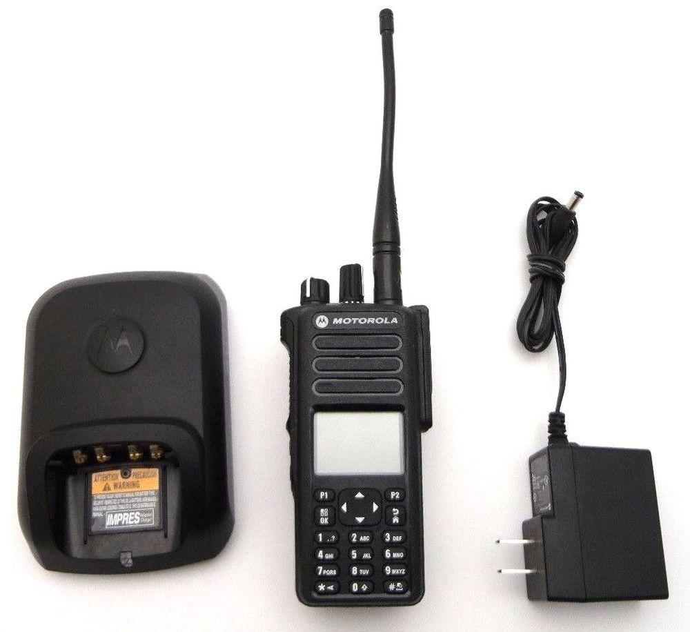 Motorola MotoTRBO XPR 7550 UHF Two Way Radio Walkie Talkie