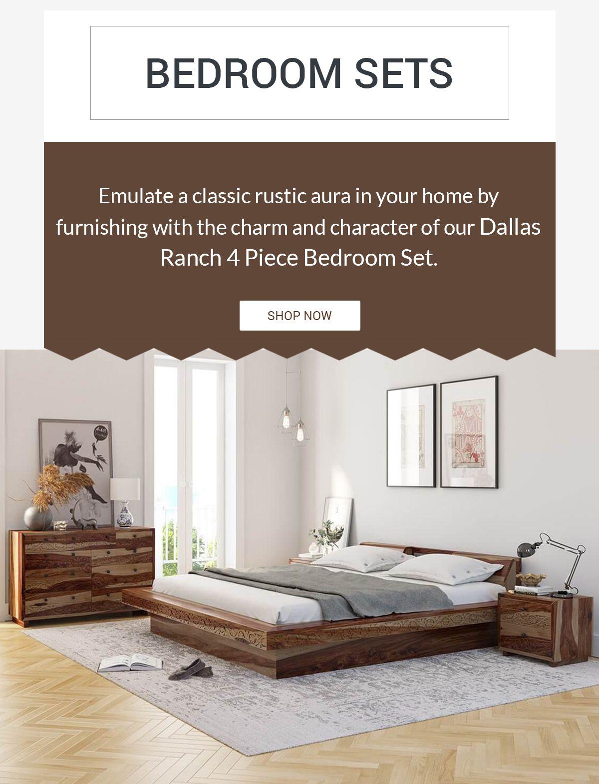 4 piece bedroom set on dallas ranch 4 piece bedroom set bedroom set wood bedroom sets modern bedroom set pinterest