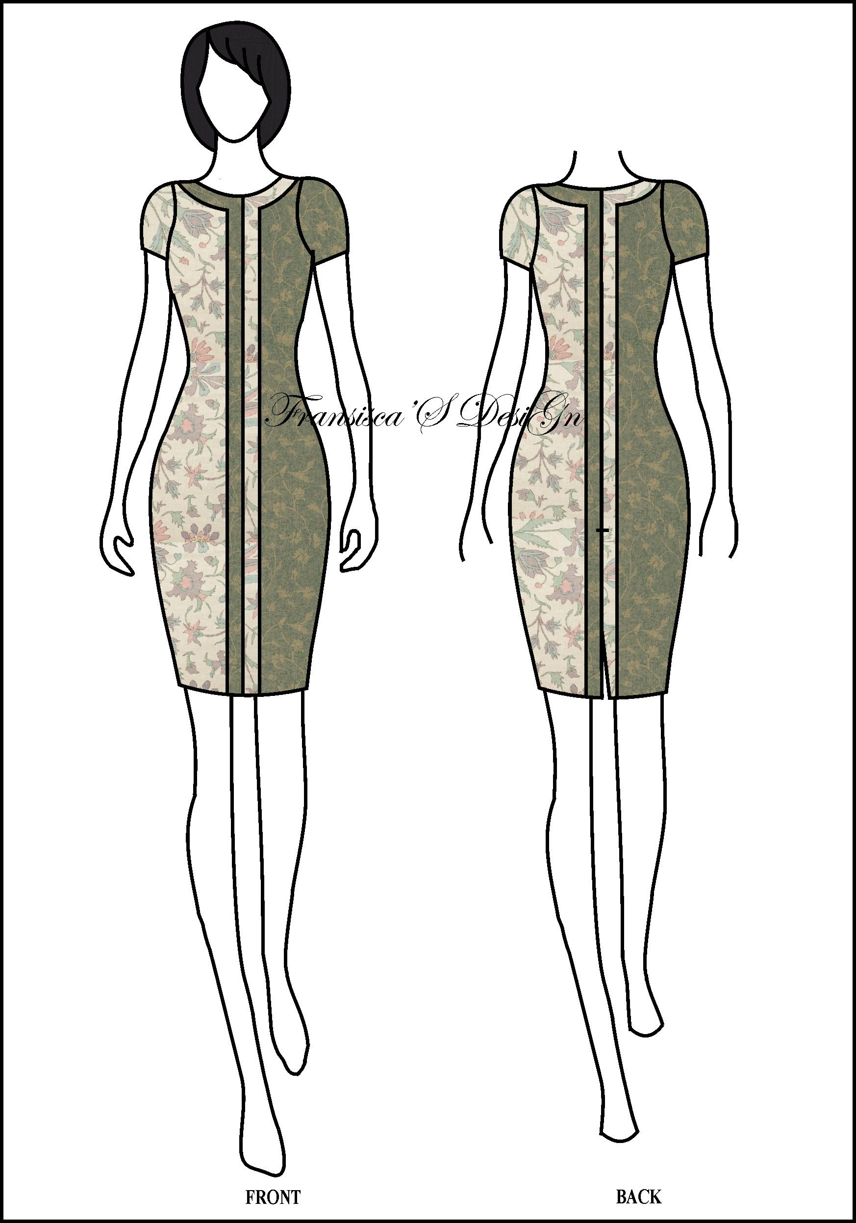 Chinese style muslim outfit  Sketsa, Panggung peragaan busana, Desain