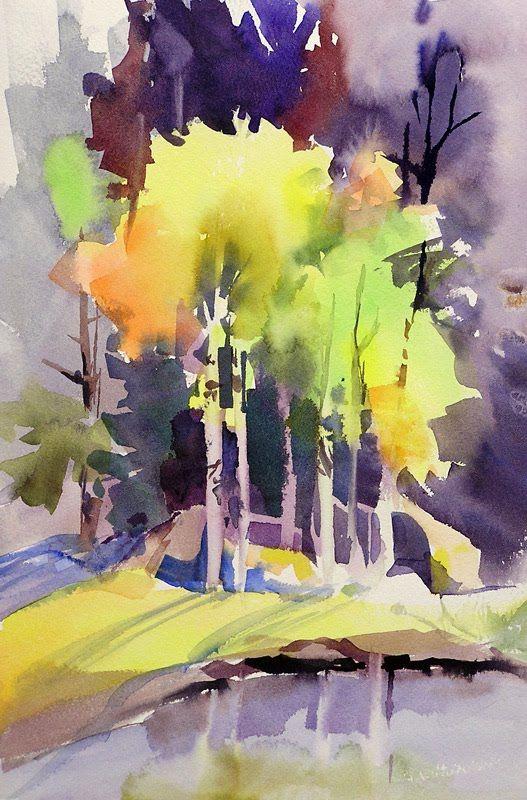 Sharon Lynn Williams Art De La Feuille Dessin Aquarelle Peinture