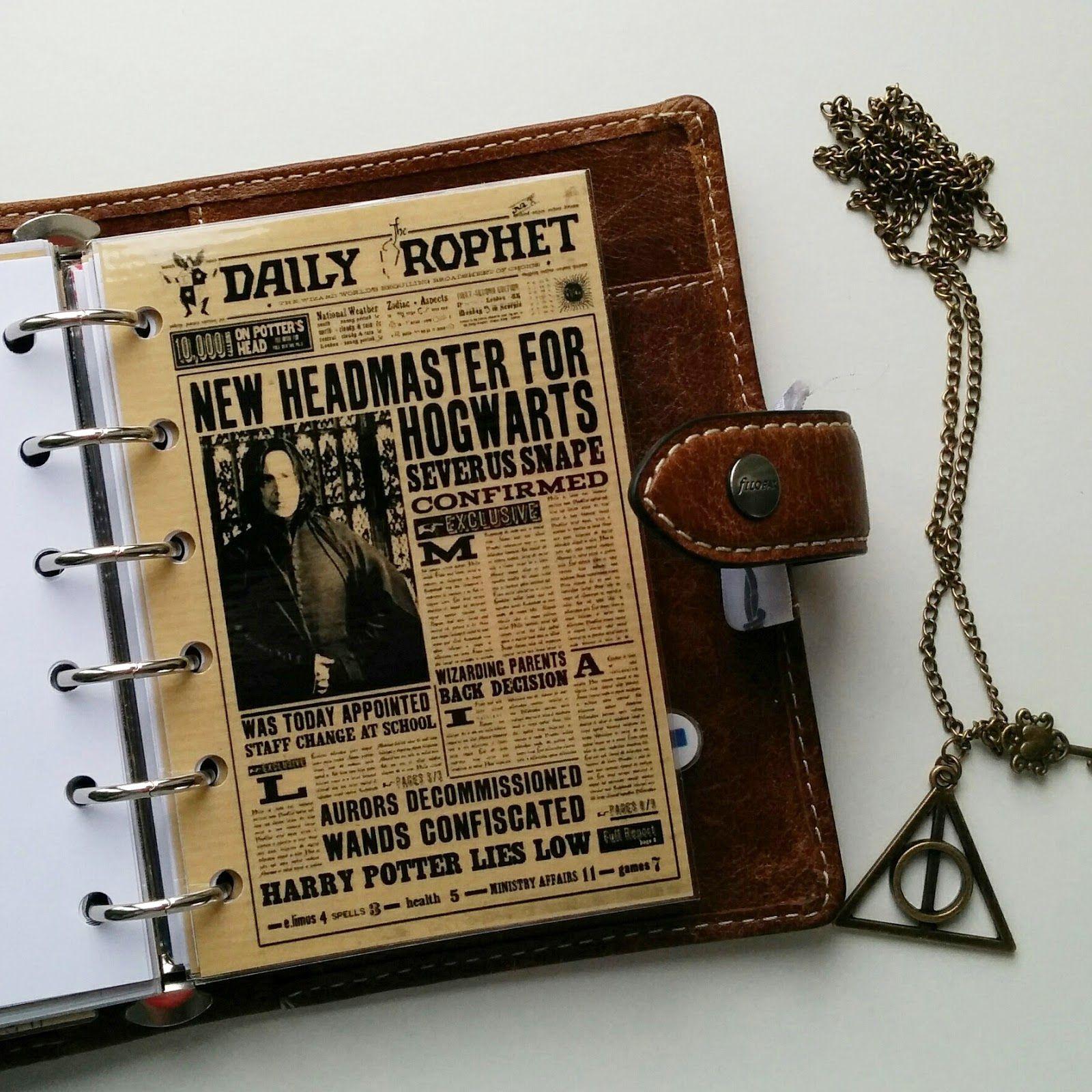 FAVtastic: Planner meets Potter
