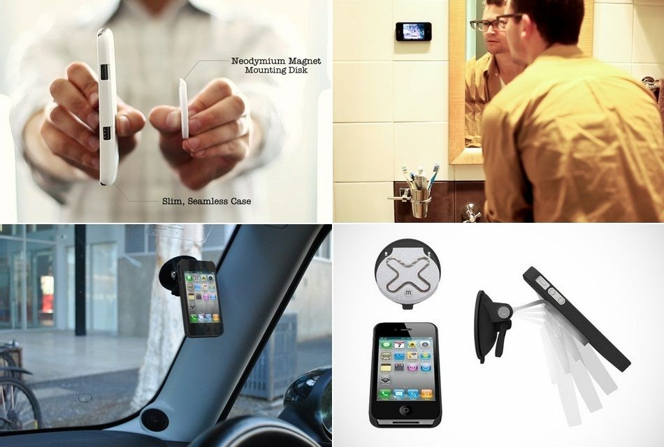 Wallee M – Modular Magnetic iPhone Mounting System