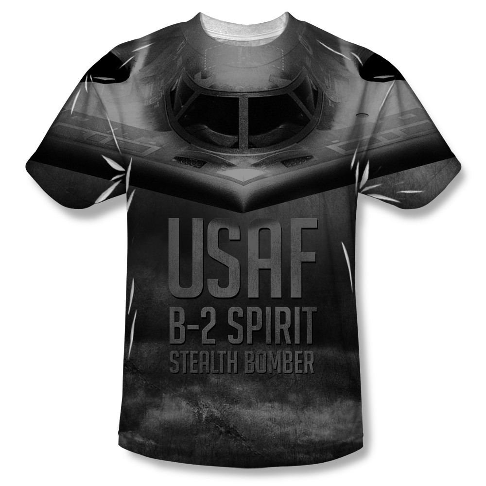 Project Shirt US Air Force TShirt with Stealth Bomber