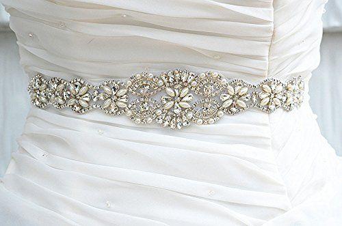 Robot Check Jeweled Wedding Dress Wedding Belts Bridal Belt