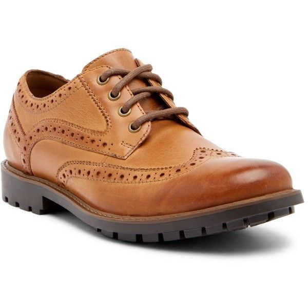 Clarks Curington Wingtip Leather Derby c550ZKAjG