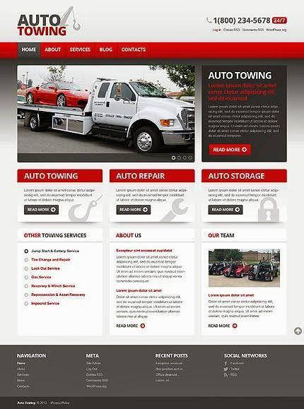 20 Premium WordPress Car Themes only @ Web Designer Pad http://www ...