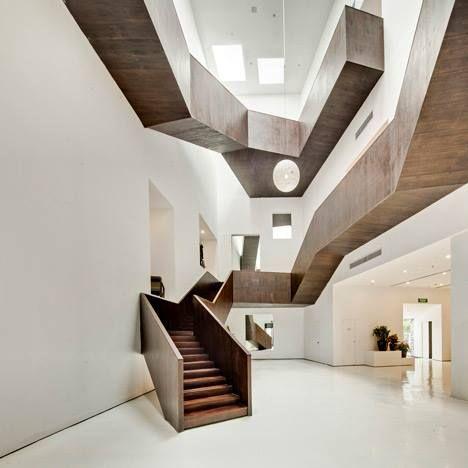 Elemento madera adicionado DISEÑO ESCALERAS Pinterest - diseo de escaleras interiores