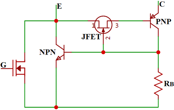 Igbt Operation As A Circuit In 2020 Transistors Bipolar Junction Transistor Switched Mode Power Supply