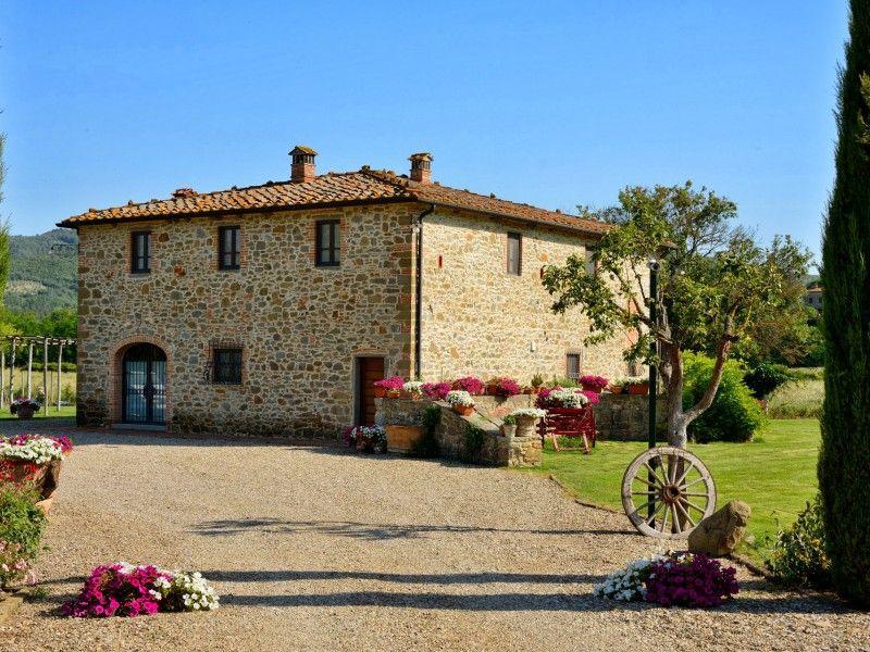 Villa Franco Italien Toskana Provinz Arezzo Nahe Siena 10 12 Personen Privater Pool Klimaanlage Die Villa Franco Befindet Si Villa Siena Ambra