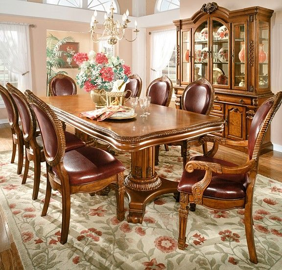 Grand Estate Dining Room Collection   Furniture.com Table $899.99