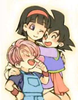 Videl Goten Y Trunks