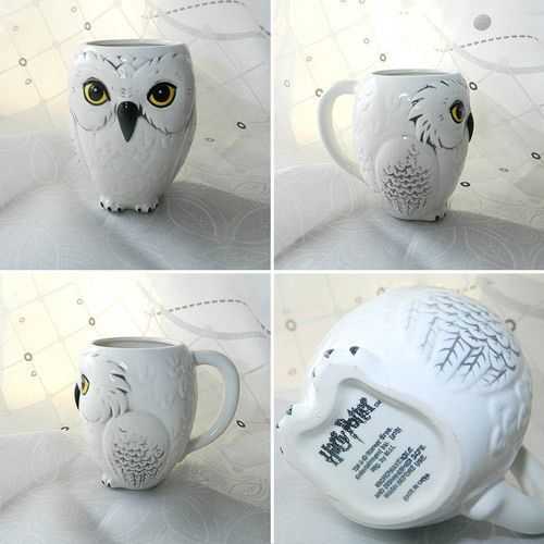 Tea Cup 2016 Potter Hedwig Owl Shaped Mug Harry Ceramics Coffee 4RcL3jq5AS