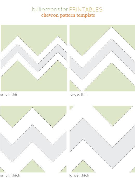 Free Printable Chevron Pattern Paper Fondant Cake