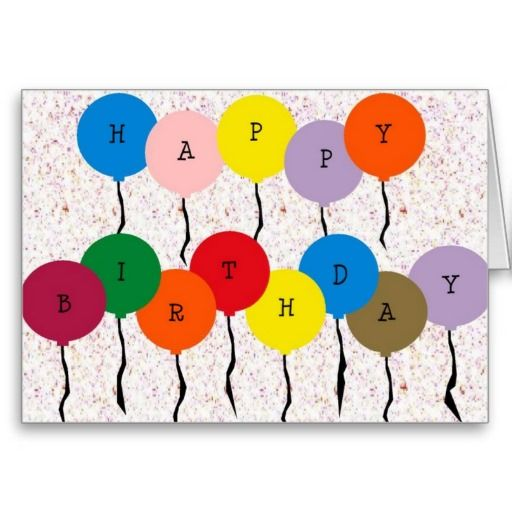 ==> reviews          Colorful Birthday Balloons (card)           Colorful Birthday Balloons (card) lowest price for you. In addition you can compare price with another store and read helpful reviews. BuyDeals          Colorful Birthday Balloons (card) lowest price Fast Shipping and save you...Cleck See More >>> http://www.zazzle.com/colorful_birthday_balloons_card-137632999413670589?rf=238627982471231924&zbar=1&tc=terrest