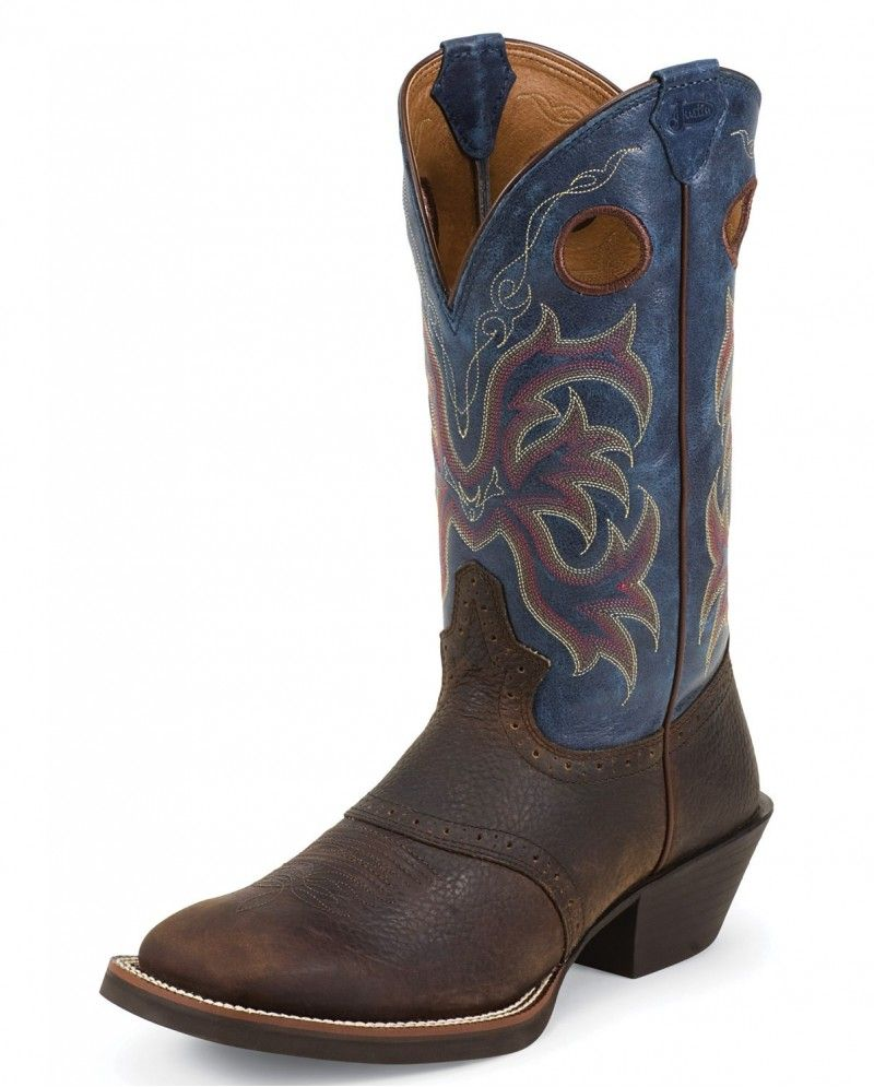 bcc5769705f Justin® Men's Stampede Punchy Boots | Kids Wishlists | Justin boots ...