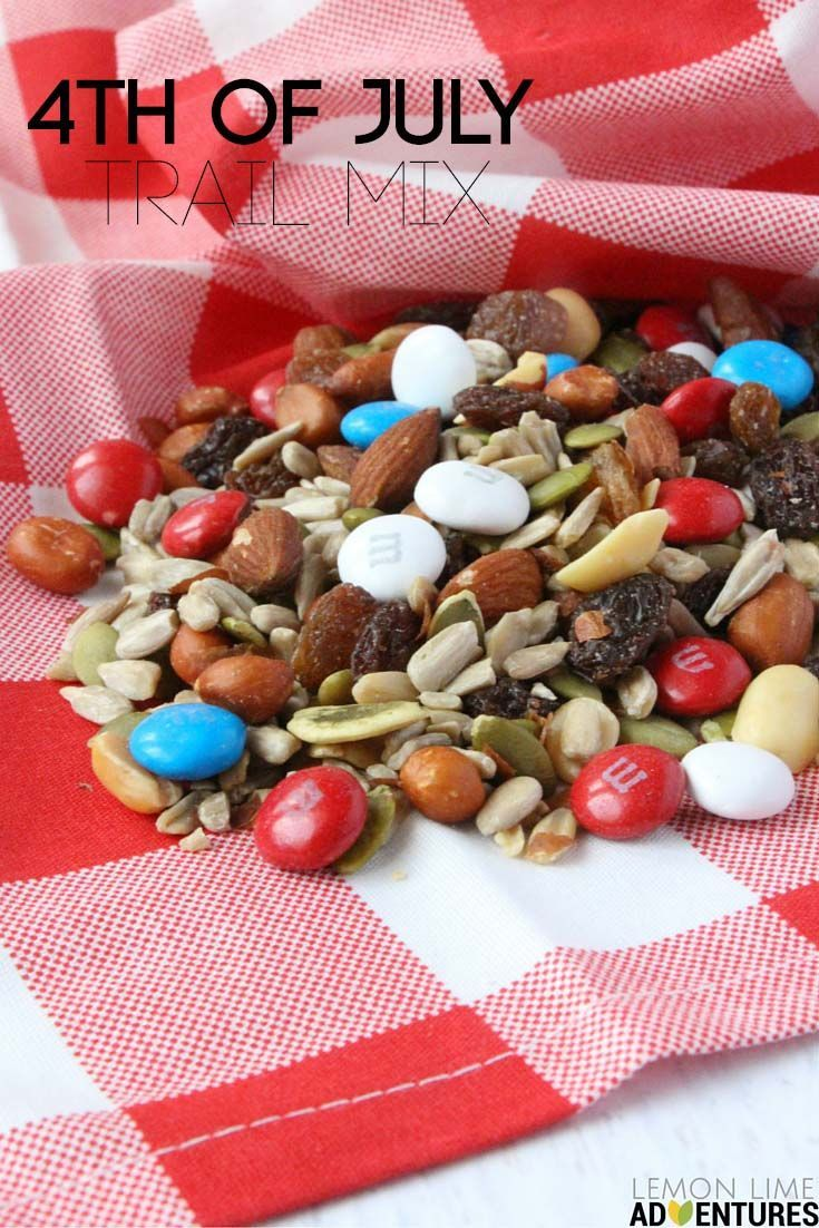 Super Simple 4th Of July Trail Mix Growing Creative Kids