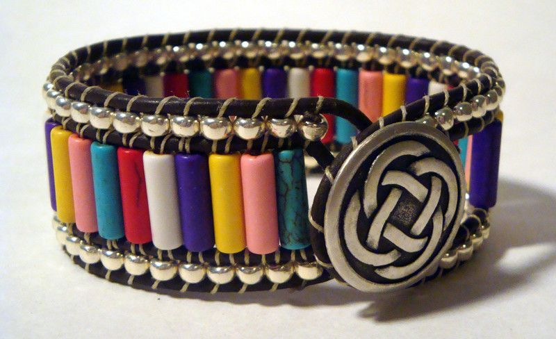 The Multicolor Wrap Bracelet
