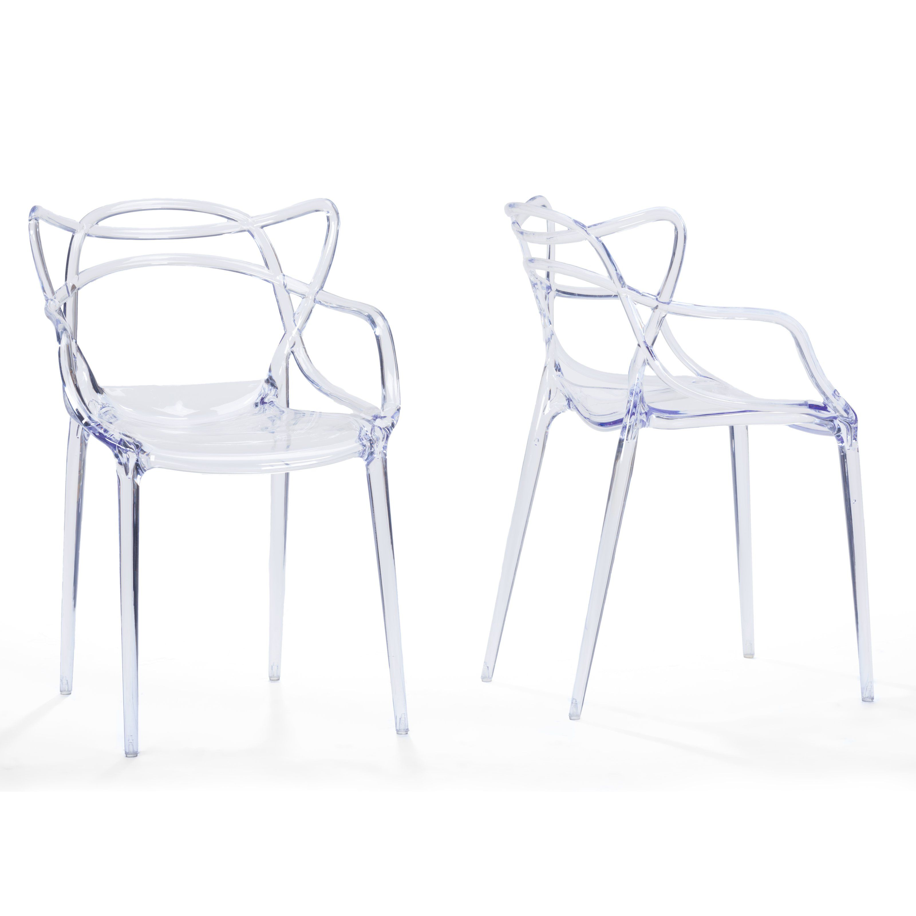 Baxton Studio Electron Dining Chair - Set of 2 | from hayneedle.com