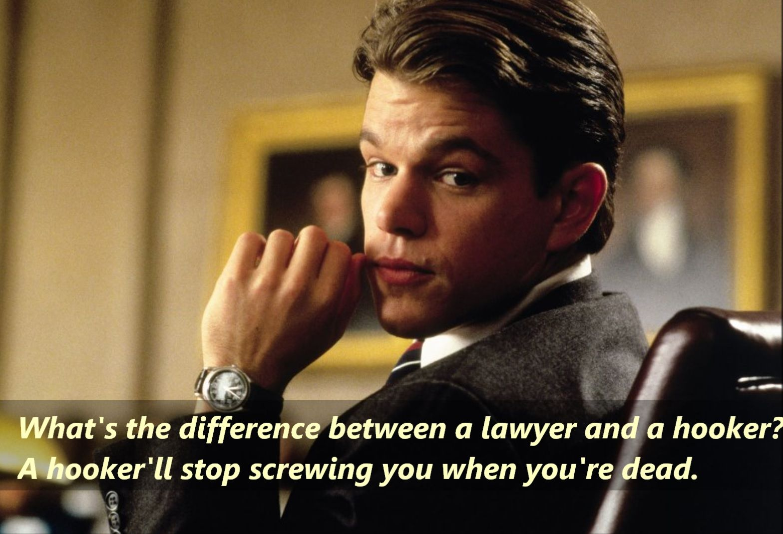 Pin By Ignich7 On Movie Quotes To Reminisce Movies Matt Damon