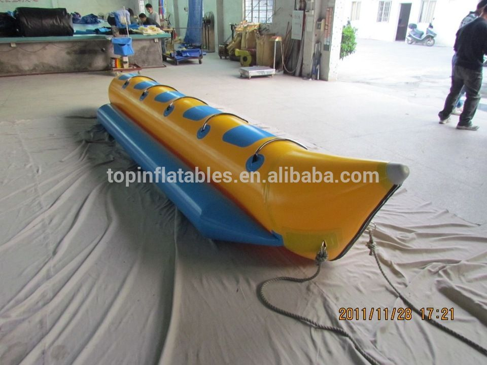 5 seats banana boats inflatable water games