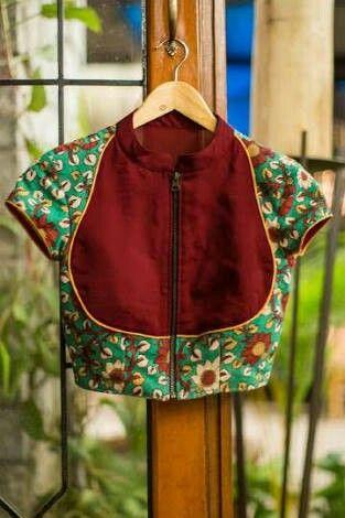 9c920f8385828 Kalamkari blouse