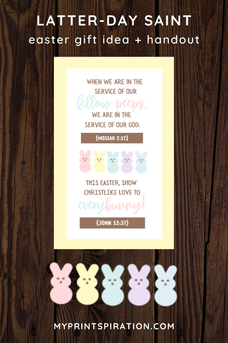 Photo of LDS Easter Gift Idea