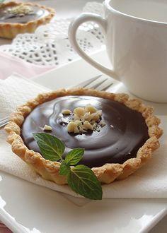 Tartlete sa čokoladom i lešnicima