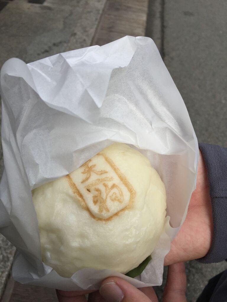 Hida beef bun @ Takayama, Japan