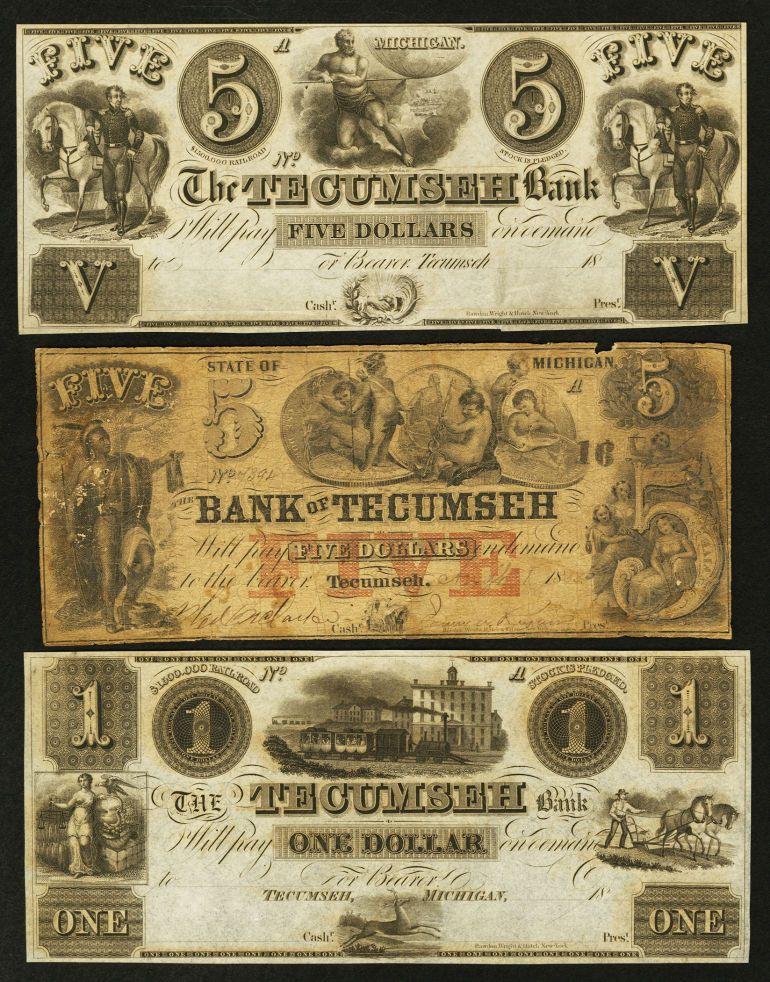 Obsoletes By State Michigan Three Tecumseh Michigan Obsoletes