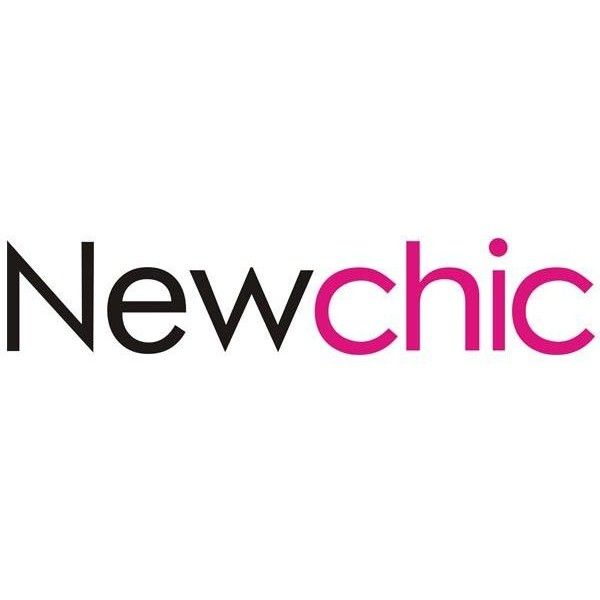 Newchic logo Newchic ❤ liked on Polyvore featuring logo